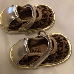 Michael Kors baby shoes. Size 2.